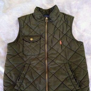Boy's Ralph Lauren quilted vest